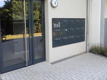 Klingel und Briefkästen von Fahland Bautechnik Hamburg